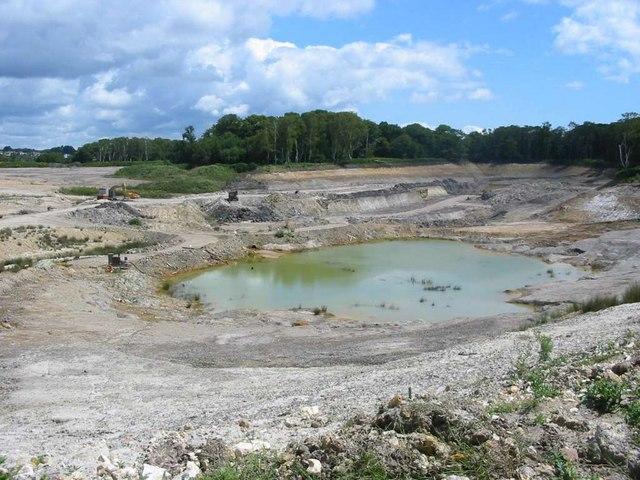Clay Pit near Arne