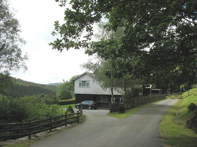 Buarthre Newydd - a modern cottage