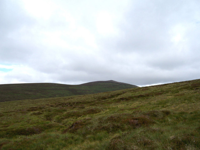 On the north ridge to Beinn a'Chait