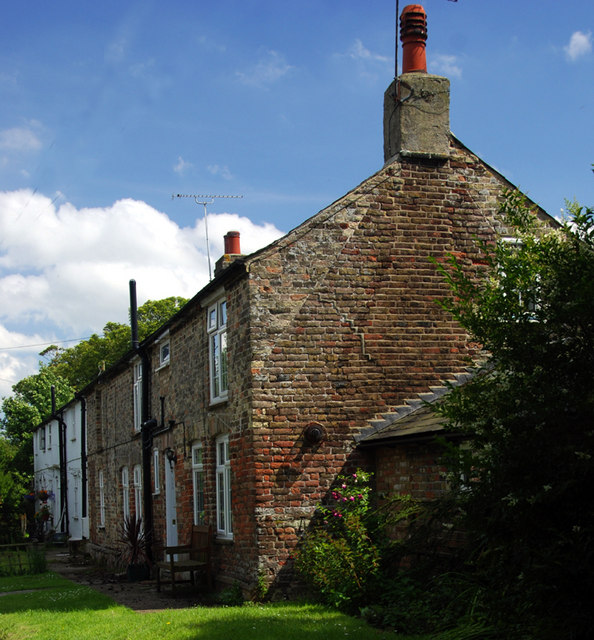 A row of cottages, Monkton, Thanet, Kent