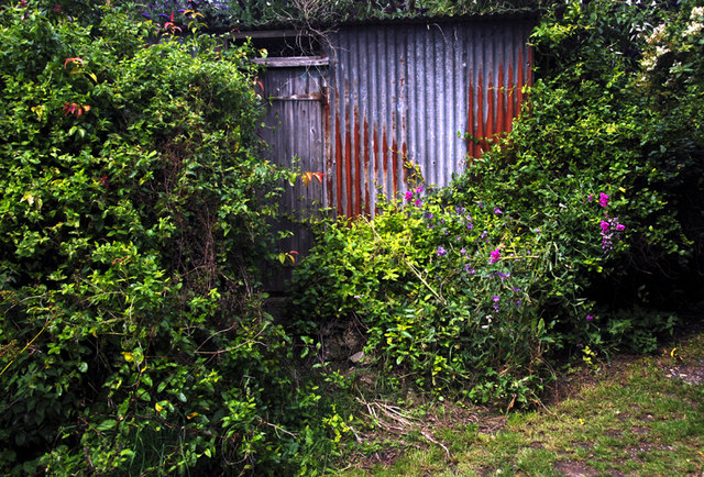 A shed opposite the Church, Monkton, Thanet, Kent