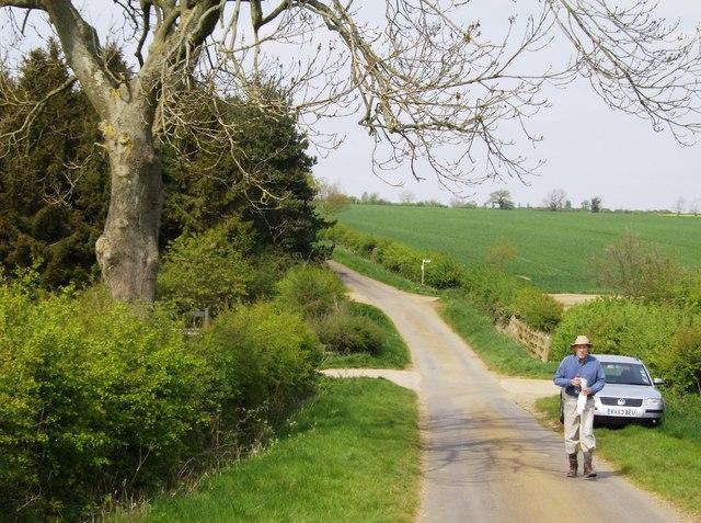 Lane south of Little Preston