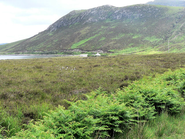 Fishing croft at south end of Loch Eriboll