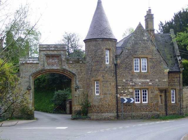 Archway in Moreton Pinkney