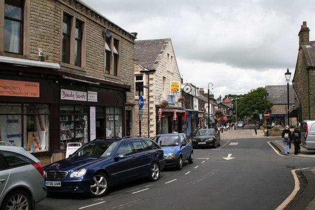 Albert Road, Barnoldswick, Yorkshire