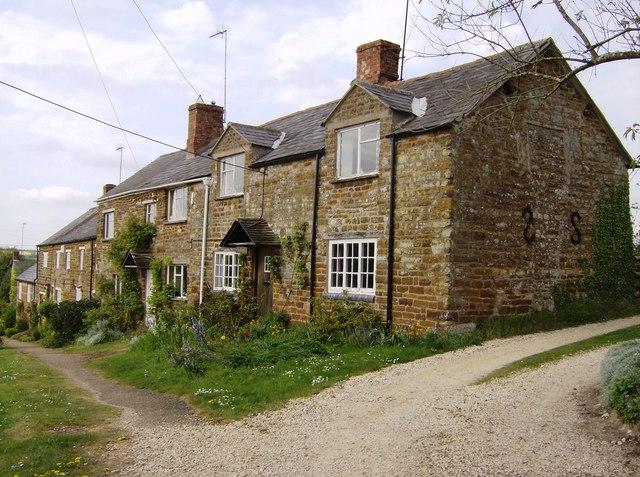 Cottages in Moreton Pinkney