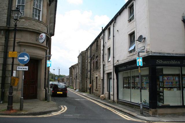 Garden Street, Barnoldswick, Yorkshire