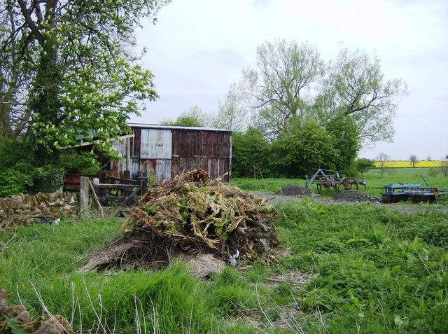 Barn near Foxhill Farm