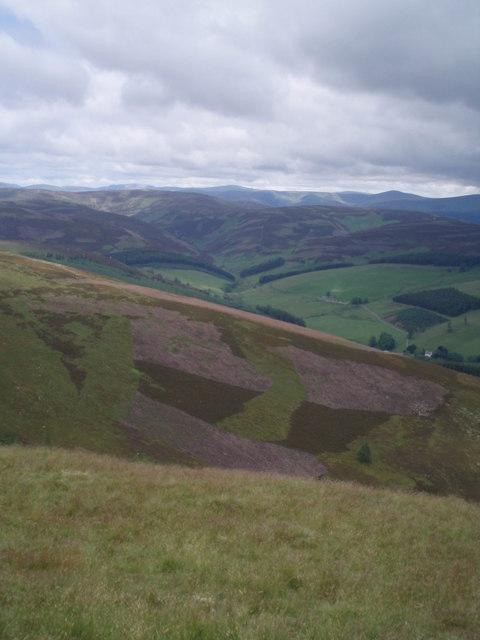 View across Glen Uig