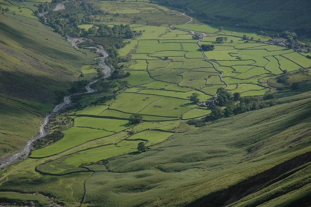 Field pattern at Wasdale Head