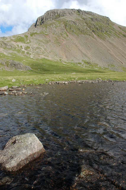 Beck Head Tarn and Great Gable