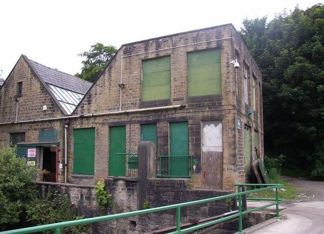 Building in Ramsden Mills, Golcar