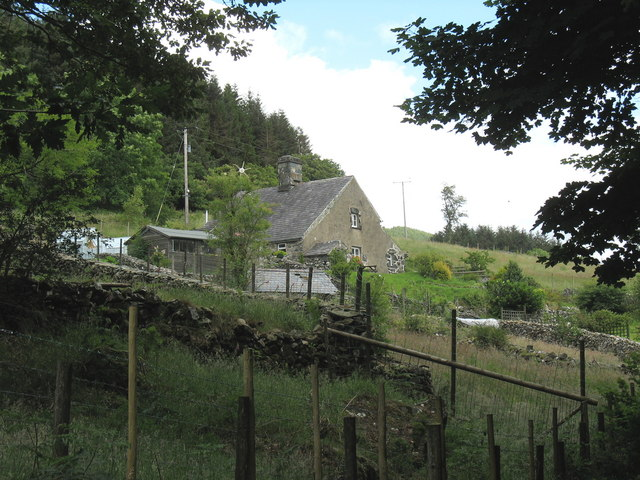 Bwlchrhoswen-isaf - a forest edge cottage