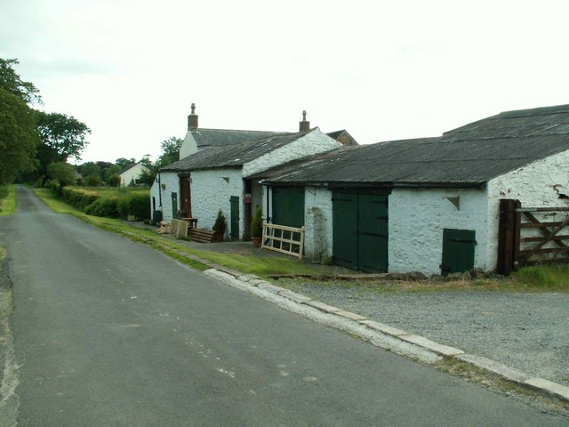 Farm buildings at Moorfield