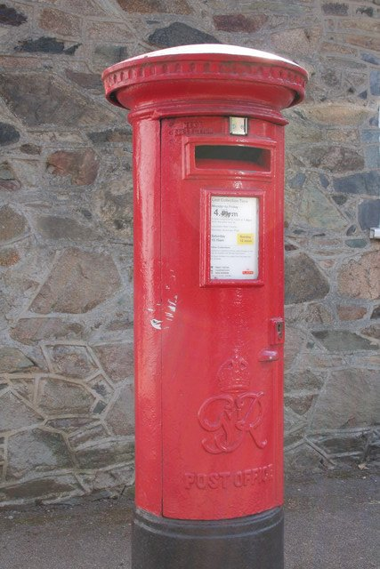 George VI Postbox, Newtown Linford