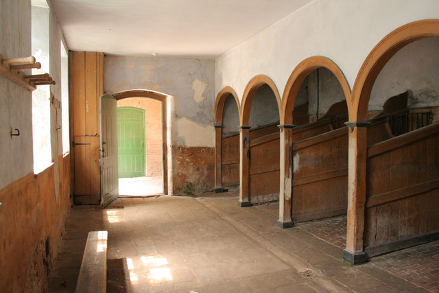 Interior, Calke Abbey Stables