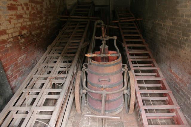 Firefighting Equipment, Calke Abbey Stables
