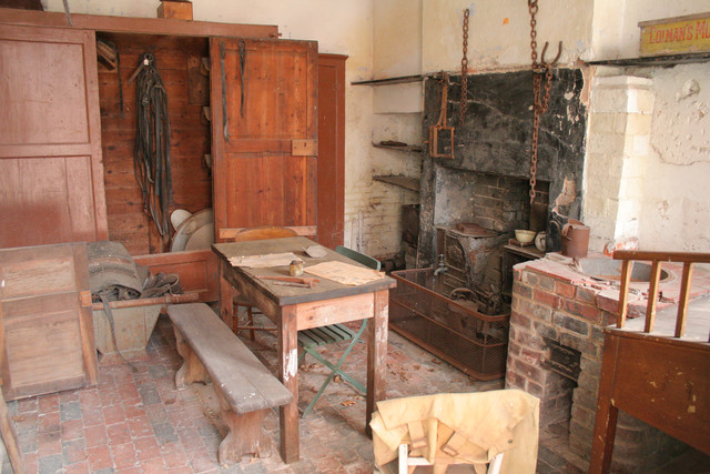 Scullery, Calke Abbey Stables