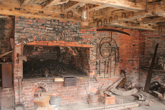 Blacksmith's, Calke Abbey Stables