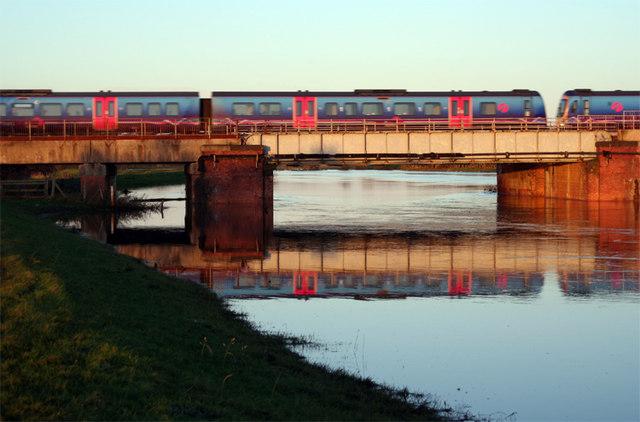 Railway Bridge over the River Wharfe