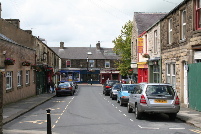 Frank Street, Barnoldswick, Yorkshire