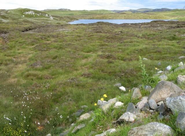 View across Loch Crois Ailein