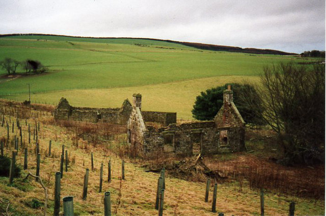 Ruin of former SYHA youth hostel, Auchenblae