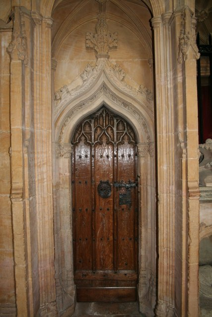 Fleming Chantry door