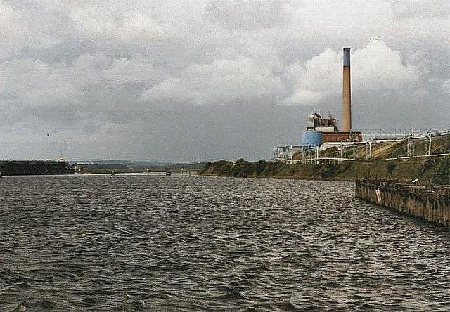 2002 : River Weaver from Weston Marsh Lock