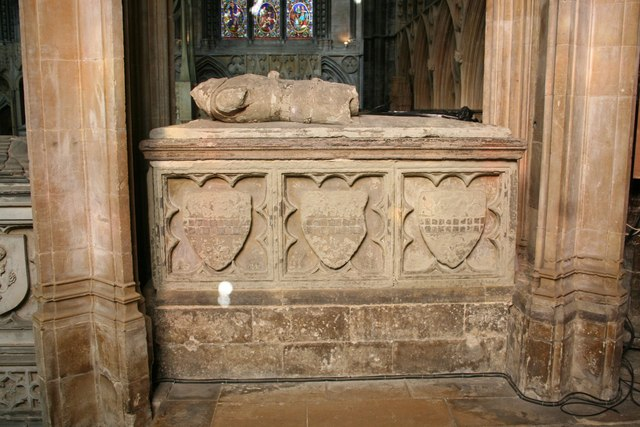 Sir Nicholas Cantilupe's tomb