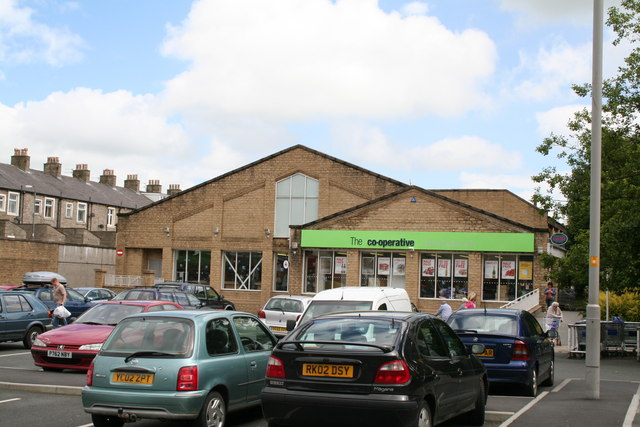 Co-operative Stores, Barnoldswick, Yorkshire