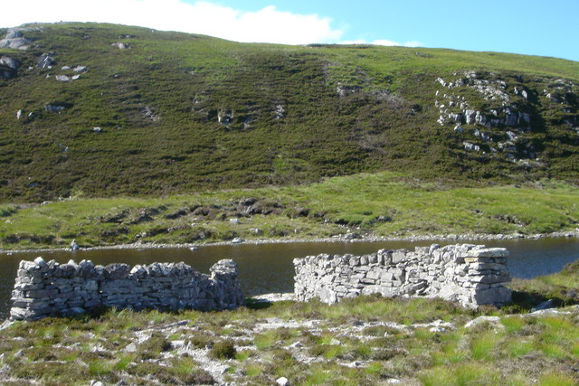 Sheep Wash at Loch Duail
