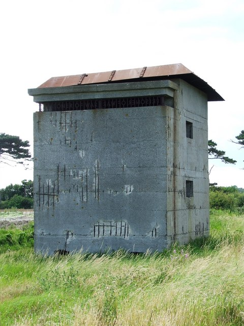 Fire Control Tower At East Lane Battery
