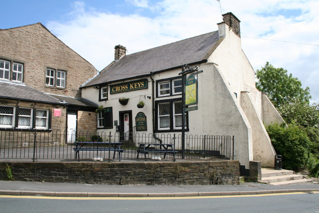 The 'Cross Keys' Barnoldswick, Yorkshire
