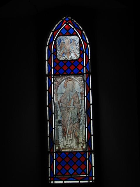 Holy Trinity church, transfer glass window