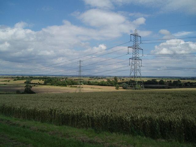 Fields towards Low Melwood