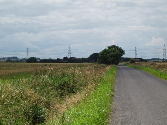 Sand Road to Glebe Farm