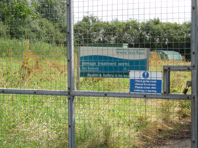 West Butterwick Sewage Treatment Works