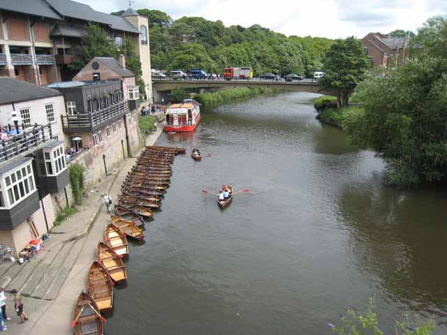 River Wear from Elvet Bridge, Durham