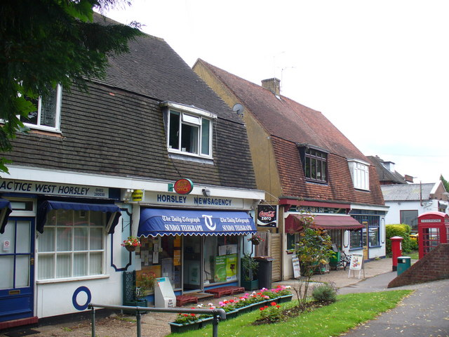 West Horsley Shopping Parade