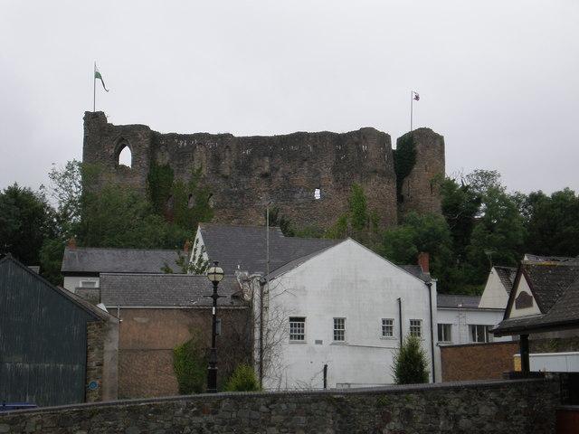 Haverfordwest castle.