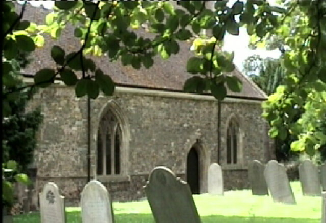 Gravestones in St. Cuthbert's Church, Great Glen