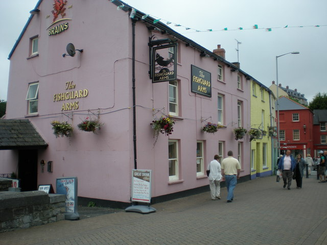 The Fishguard Arms.