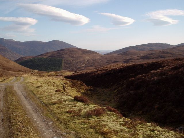 Looking down the path to Inverchoran