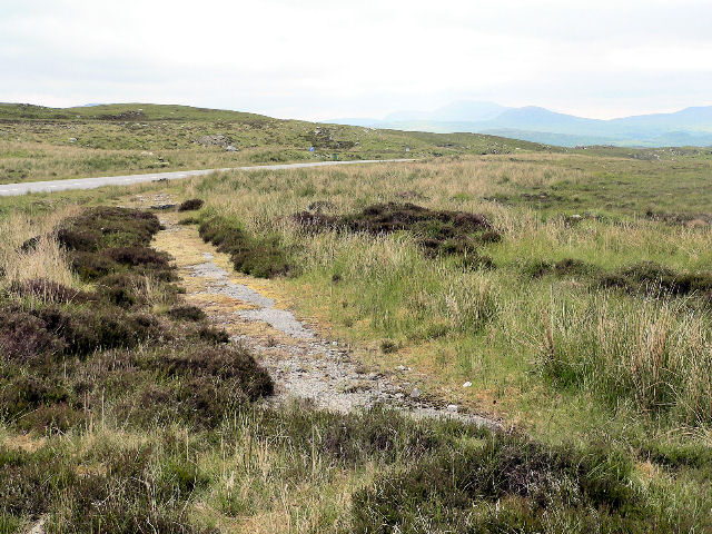 Remains of old road