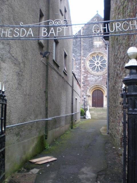 Bethesda Baptist Church.