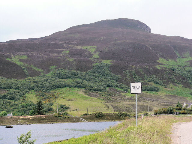 Hill at Dalcharn, south of Lochan Dubh