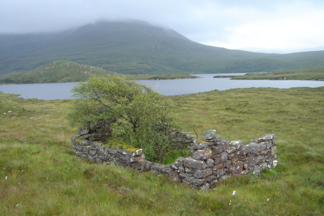 Ruin in Inverpolly Forest
