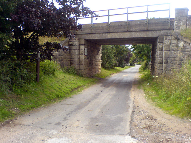 Railway Bridge near Farm Park