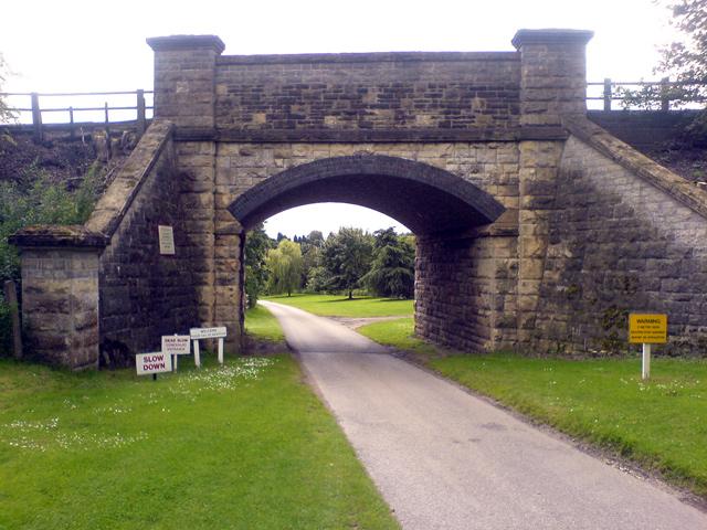 Railway Bridge near Gorsethorpe